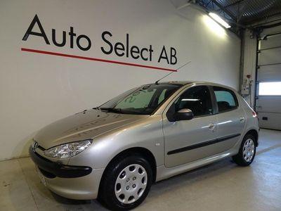begagnad Peugeot 206 5-dörrar 1.4 75hk / 7918 MIL