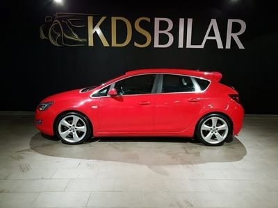 brugt Opel Astra 1.6 Turbo 180hk Sport Edition 5dr -11