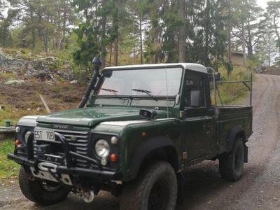 begagnad Land Rover Defender 110 pickup -98