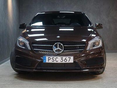 begagnad Mercedes A180 CDI 7G-DCT AMG Paket Nyservad V-hjul