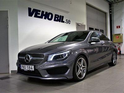 begagnad Mercedes CLA220 CDI, AMG, VÄRMARE, BACKKAMERA
