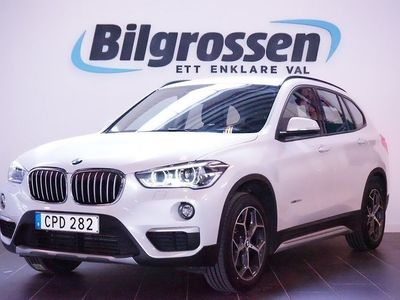 begagnad BMW X1 xDrive 20d 190hk EU6 Drag MoK LED Sv-Såld