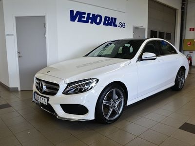 brugt Mercedes C220 d/4Matic/Garmin Navigation/Panoramatak lucka/Automat/Drag/