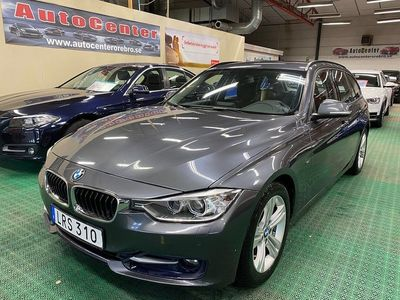 begagnad BMW 318 d Touring Steptronic Sport line 143hk