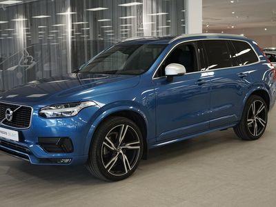 begagnad Volvo XC90 D5 AWD R-Design 7-säten Teknikpake