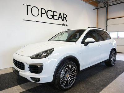 """begagnad Porsche Cayenne S Diesel Sport Chrono 385 hk Pano Drag 21"""""""