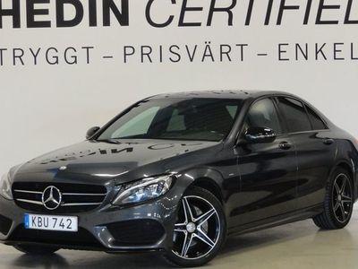 begagnad Mercedes 220 - Benz C - KlassD Aut AMG - Night Värmare Navi 1 - Ägare