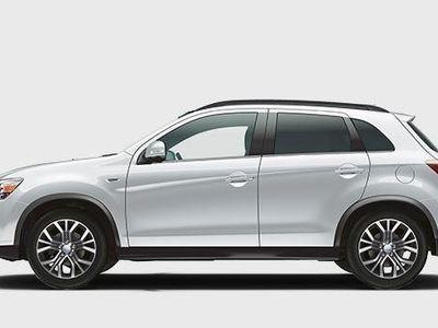 "begagnad Mitsubishi ASX 1.6 2WD Onyx Black Edition 18"""