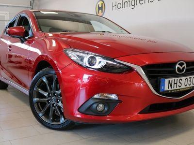 gebraucht Mazda 3 VISION R 2,0 165 HK MANUELL