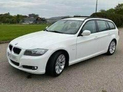 begagnad BMW 320 d Touring Alpinvit, Panoramatak, Automat, Nav, 184hk