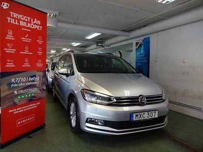 begagnad VW Touran 2.0 TDI Plus 7-SITS AUTO Backkamera