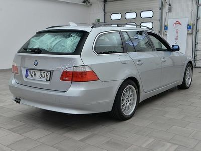 begagnad BMW 525 xi Touring E61 AUT 2009, Kombi 117 900 kr