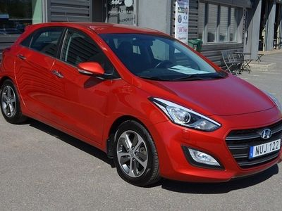 brugt Hyundai i30 30 1,6 CRDi 136HK Euro6 Aut Premium Nav Drag