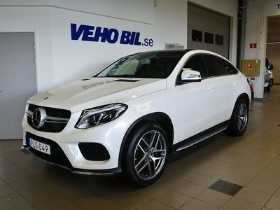 brugt Mercedes GLE350 d 4Matic Coupé, AMG Line, Distronic, Värmare, Panorama