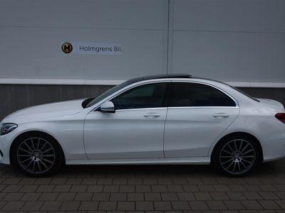 """begagnad Mercedes C220 d AMG Panorama Läder 19"""""""