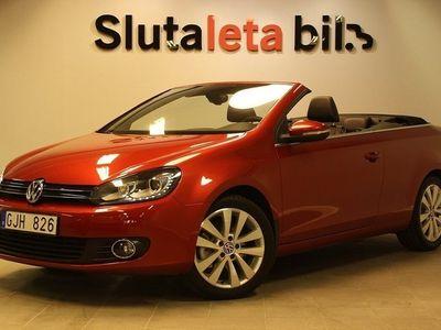 begagnad VW Golf Cabriolet 1.4 TSI Comfort 160hk S/V Hjul Svensksåld