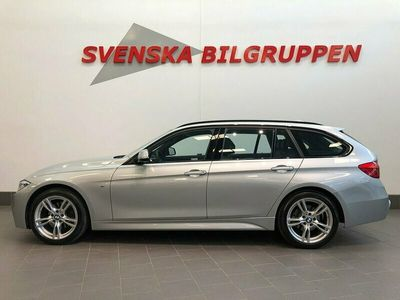 begagnad BMW 320 d xDrive Touring M Sport Aut 190hk Läder Nav P-sensorer