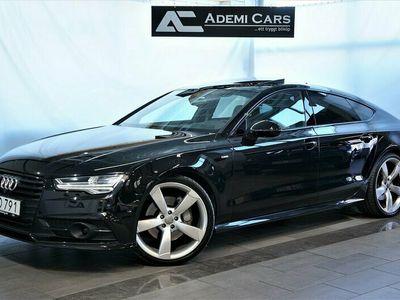 begagnad Audi A7 3.0 TDI V6 Quattro S Tronic 272HK S-Line Se Spec