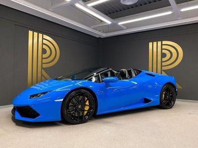 begagnad Lamborghini Huracán Huracan HuracánSpyder Sensonum Forged Carbon 2016, Personbil 2 149 000 kr