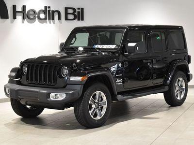 begagnad Jeep Wrangler Unlimited Sahara