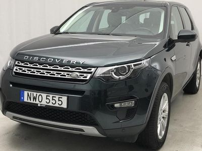 begagnad Land Rover Discovery Sport 2.0 SD4 AWD
