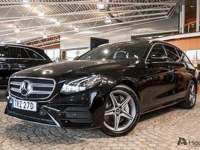 begagnad Mercedes E300 Kombi // AMG Line & Förarassistent //