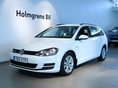 begagnad VW Golf VII 1.6 TDI BlueMotion Sportscombi 110hk