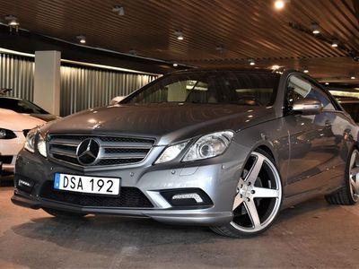begagnad Mercedes E350 CDI AMG PANO NAVI