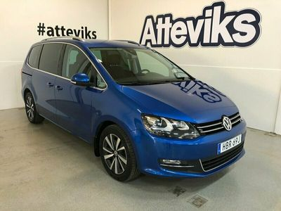 begagnad VW Sharan 2.0 TDI 4Motion DSG Sekventiell, 177hk, 2020