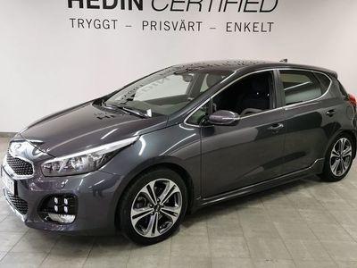 begagnad Kia cee'd GT 1,6 CRDI DCT - Line / / 1 Ägare