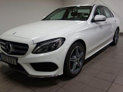 begagnad Mercedes 220 Benz C BlueTEC AMG paket Navi Drag 2015, Sedan 239 900 kr