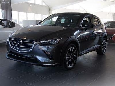 brugt Mazda CX-3 2.0 Optimum Automat Svart skinn (121hk)
