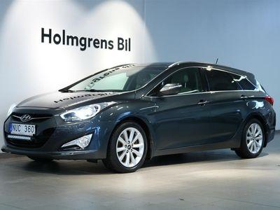 begagnad Hyundai i40 PremiumPlus Aut Glastak Navi