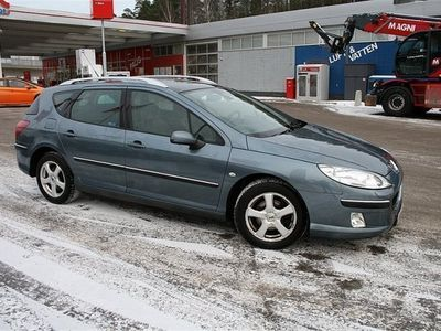 begagnad Peugeot 407 2,0 SW Hdi Automat ny servad