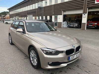 begagnad BMW 320 d Touring 184hk AUT Lågmil Toppskick