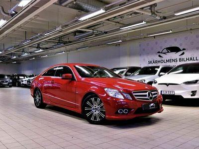 begagnad Mercedes E200 Coupé AMG Sport 184hk SVENSK kamkedja