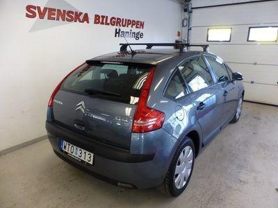 begagnad Citroën C4 1.6 5dr 5-Vxl AC ISOFIX S+V-Hjul Halvkombi