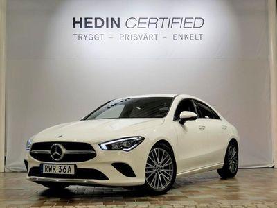 begagnad Mercedes 200 CLA BenzCoupe SE EDITION PREMIUMPAKET NAVI KAM 2020, Sportkupé Pris 314 900 kr