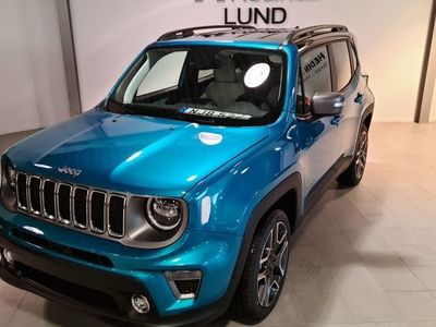 begagnad Jeep Renegade LIMITED PHEV 1,3 GSE T4 190HP AT6 4XE