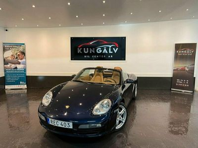 begagnad Porsche Boxster 240hk*MANUELL*CAB*FINT SKICK*NYBES*NYSERVAD