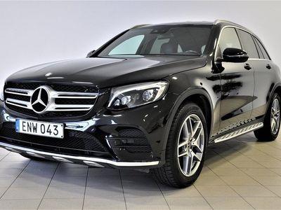 begagnad Mercedes GLC220 d 4MATIC AMG Sport Euro 6 170hk