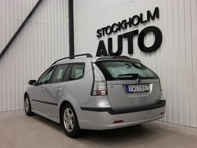 begagnad Saab 9-3 2.0t 175hk Vector SportCombi
