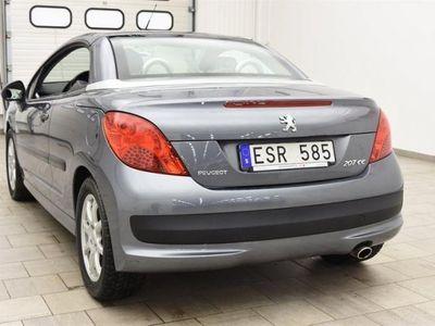 begagnad Peugeot 207 CC 1.6 VTi 3dr CAB 7691MIL / 0:- KONTANT