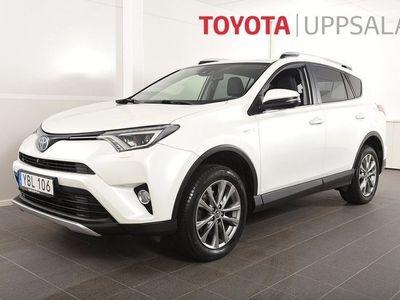 begagnad Toyota RAV4 Hybrid 2,5 Elhybrid AWD Executive / Navi / Drag / M-värmare