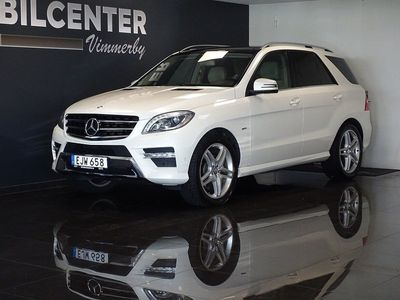 usata Mercedes 350 M-KlassBlueTEC 4MATIC Euro 6 258hk