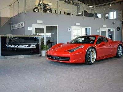begagnad Ferrari 458 SPIDER