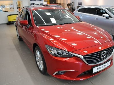 brugt Mazda 6 Wagon 2,2DE 150hk AutAWD VisionPlus Webasto