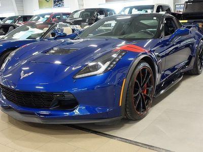 begagnad Chevrolet Corvette C7 Grandsport 2017, Personbil 749 000 kr