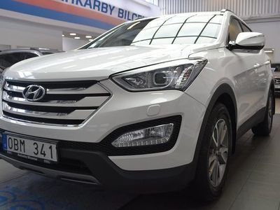 begagnad Hyundai Santa Fe 2.2 CRDi 4WD Business Krok Motorvärmare 2013, SUV 154 900 kr