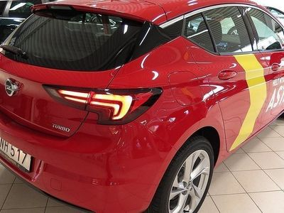 begagnad Opel Astra Dynamic 5d 1.4T /125 hk